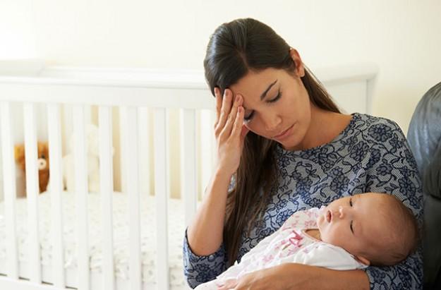 Postpartum depressie